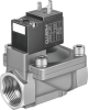 Air solenoid valve -- MN1H-2-1/4-MS-NPT -Image