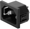 IEC Appliance Inlet C14, mates to Felcom -- 6150
