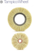 Tampico Wheel Brushes -- CT-2