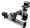 Linear XYZ Stage--3 Axis/Positioning System/Mechanical -- FSL40XYZ-X -- View Larger Image