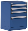 Heavy-Duty Stationary Cabinet (with Compartments), 4 Drawers (24