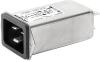 IEC Appliance Inlet C20 with Filter, ECO design, front or rear side Mounting