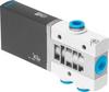 Air solenoid valve -- MHE4-MS1H-3/2G-QS-8 -Image