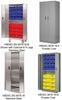HEAVY DUTY BI-FOLD DOOR CABINETS -- HBDSC-3678-18-4