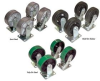 Casters For Steel Hoppers -- HH-CK4-PU6-2 -Image
