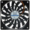 Scythe Slip Stream Slim Low Profile 120mm Fan - 1600 RPM -- 16987 -- View Larger Image