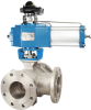 RD series Three-way Ball Valve