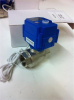 Brass Motorized Ball Valve, 95-250 VAC -- KLD075 3/4""