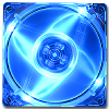 Quad Blue LED 120mm Fan -- 1007 -- View Larger Image