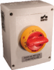 4 pole Polycarbonate Enclosed Motor Disconnect Switches -- KEM480UL Y/R -Image