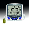 Jumbo Refrigerator/freezer thermometer with a 5ml bottle that fits in a tray -- EW-94460-83