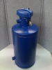 Chemical ByPass Feeder 5 Gallon Flat Bottom with Air Release and Quick Closure Lid -- FB5-QC-AR