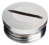 MURRPLASTIK 83726224 ( (PRICE/PK OF 10) BST-M63X1.5 METAL BLANK PLUG ) -Image
