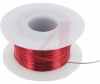 WIRE, MAGNET, SOLDERABLE, 24AWG, POLYURETHANE/NYLON COATED CLEAR (TRANSPARENT) -- 70004246