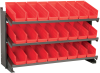 Rack, Bench Pick Rack w/ 24 Shelf Bins -- APRBENCH120R
