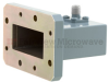 WR-137 to SMA Female Waveguide to Coax Adapter CMR-137 with 5.85 GHz to 8.2 GHz C Band in Aluminum, Paint -- FMWCA1048 - Image