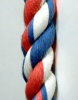 Twisted Cotton Blend, Variegated Rope -- 11001