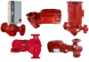 In-line Close Coupled and Flexible Coupled Centrifugal Pumps -- View Larger Image
