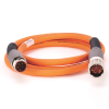 MP-Series 2m Length Pwr and Brake Cable -- 2090-CPBM7E7-16AF02 -Image