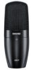 Multi-Purpose Condenser Microphone with Suspension Shock Mount and Storage Pouch -- SM27-SC