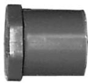 Schedule 80 PVC Pressure Fitting Plugs (SPG)