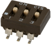DIP Switches -- 219-3LPSRF-ND -- View Larger Image