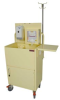 Compact Open Well Isolation Cart with Antimicrobial Pai.. -- ISO6548