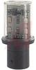 Lamp;BULB, PROTECTED LED, BA 15D BASE, 24 VAC/DC, FLASHING, WHITE -- 70007099