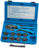 Quick Change Ratcheting Terminal Crimping Kit with 9 Die Sets -- 18980