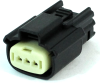 Molex 33471-0301 MX150 3-Pin Connector, Female, 22-14 AWG -- 38401 -- View Larger Image
