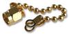 TE CONNECTIVITY / GREENPAR - 3-1478985-0 - DUST CAP & CHAIN, BRASS -- 442562