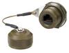 Ruggedized Jam-nut, Zinc-Nickel finish with Dust Cap -- T5C00025 -Image