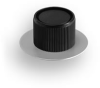 RB67 Series Aluminum Dial Control Knob -- RB-67-3-FSK