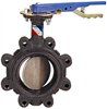Butterfly Valve - Ductile Iron, 200 PSI, Ductile Iron Disc -- LD-2110