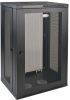SmartRack 21U Low-Profile Switch-Depth Wall-Mount Rack Enclosure Cabinet -- SRW21U