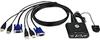 Aten CS22U 2-Port USB KVM Switch -- CS22U