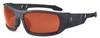 Ergodyne Skullerz ODIN-PZTY Polarized Safety Glasses Copper Lens - Kryptek Typhon Frame - Full Frame - 720476-50521 -- 720476-50521