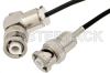 MHV Male to MHV Male Right Angle Cable 36 Inch Length Using RG174 Coax -- PE35799-36 -Image