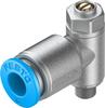 One-way flow control valve -- GRLA-M5-QS-6-D -Image