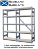 6' HIGH / 5-SHELF UNITS -- H6025K - Image