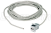 USB Type A Female Panel Mount Coupler / 5 Meter Cable -- ECF504-5M