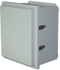 Heavy-Duty Fiberglass Weatherproof Enclosure - NEMA 4X (IP66) -- OM-AMHD-R