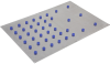 Steel Plate for Clamping Tables with Laser-cut Grid ISST 1000x1000x3 -- 10.01.14.99997