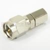 SMA Male (plug) to SMC Plug Adapter, Nickel Plated Brass Body, 1.2 VSWR -- SM2074 - Image