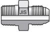 JIS 30 Degree Flare to JIS B203 (BSPT) -- 4-6F3T4S