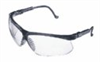 S3200 - Uvex by Honeywell Genesis Black frame glasses with clear lenses -- GO-86325-70