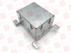WIREMOLD 880S1 ( STEEL FLOOR BOX, 1-GANG, OMBX ) -- View Larger Image