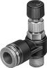 LRLL-10-32-UNF-QS-5/32-U Differential pressure regulator -- 190903