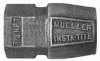 Straight Coupling With Mueller Insta-Tite Connection -- H-15457N