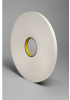 3M 4108 White Single Sided Foam Tape - 2 in Width x 36 yd Length - 1/8 in Thick - 04873 -- 021200-04873 -- View Larger Image